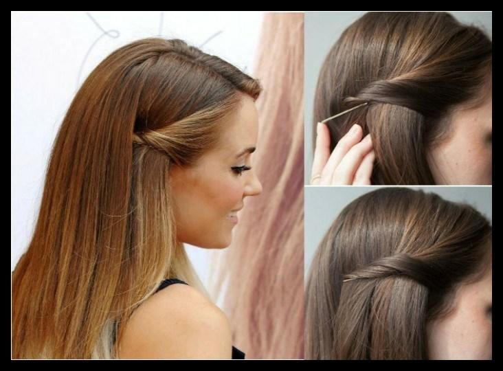 Schnelle Und Leichte Frisuren Schone Frisuren Beauty Einfache Frisuren Party Schicke Frisu Einfache Partyfrisuren Geflochtene Frisuren Leichte Frisuren