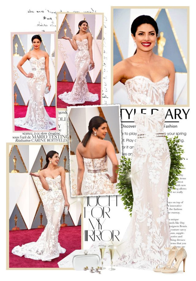 """Priyanka Chopra - Oscars 2016"" by productionkid ❤ liked on Polyvore featuring Chanel, Rika, Nearly Natural, Alexander McQueen, Chinese Laundry, RedCarpet, Oscars, academyawards, PriyankaChopra and oscars2016"
