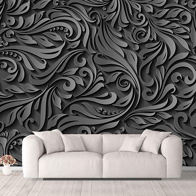 Amazon Com Nwt Wall Murals For Bedroom Beautiful 3d View Pattern Flowers Removable Wallpaper Peel And Sti Wall Murals Bedroom Wall Murals Wall Stickers Murals
