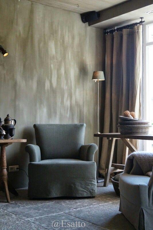 Wat een serene sfeer landelijk wonen pinterest - Eigentijdse houten lounge ...