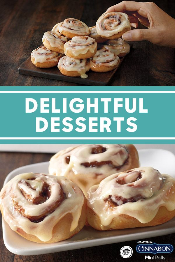 Give Your Sweet Tooth What It Wants Say Hello To Cinnabon