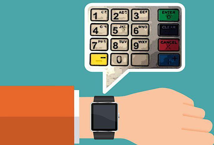 Secondo uno studio USA, i sensori degli smartwatch potrebbero essere sfruttati per individuare i movimenti sulla tastiera del bancomat.