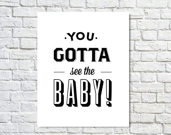 Seinfeld poster type poster baby black white wall decor seinfeld fan