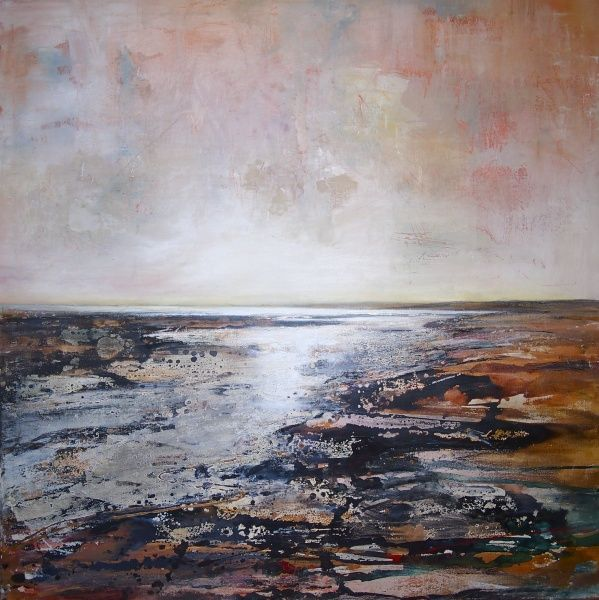 New Blood Art | Gwendraeth Estuary 2 by Peter Kettle | Buy Original Art Online | Artworks by Emerging Artists for Sale