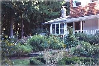 Stephentown Center Vacation Rental - VRBO 45180 - 4 BR Berkshires House in NY, Forest Retreat Magnificent Deck, Pool, & Perennial Gardens