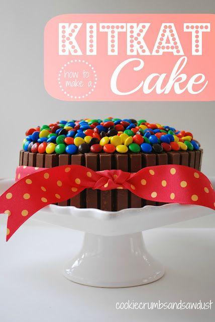 Kit Kat and m cake