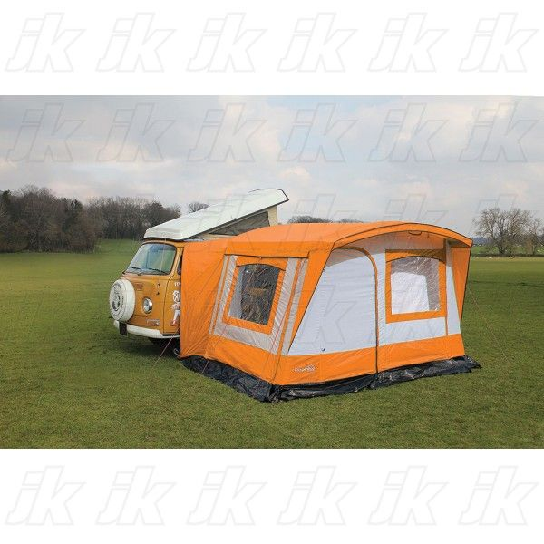 Charming Campershop Retro Awning RHD Orange Grey 2015  The Ultimate Retro Awning For  Your VW Camper