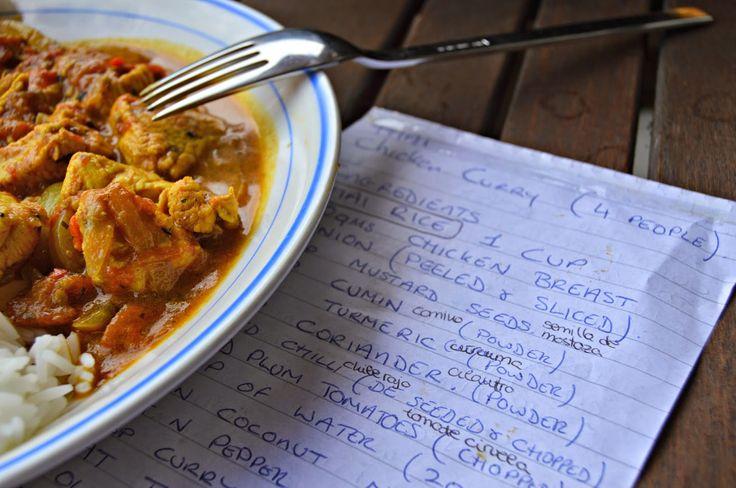 Thai Chicken Curry (Pollo al curry tailandés)