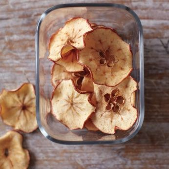 Read Whole Living's Apple Chips recipe. Also find healthy breakfast, lunch, snack, dinner & dessert recipes, plus heart healthy food & weight loss recipe ideas at WholeLiving.com.
