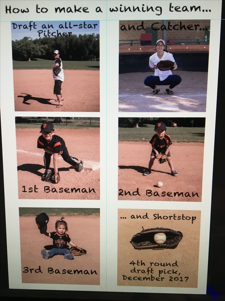 Baseball Baby announcement for #4