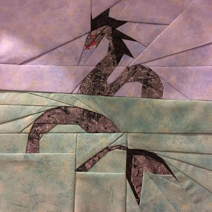 Sea Serpent Fantastic Beasts Quilt Along | Craftsy