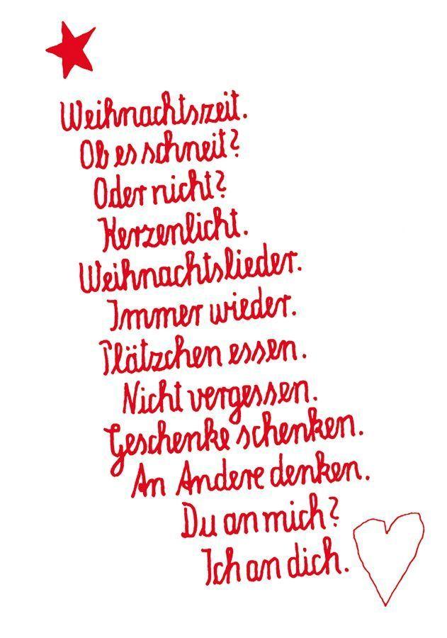 Christmas Card Card Christmas Minimalistfashion In 2020 Weihnachten Text Weihnachtsgedichte Gedicht Weihnachten