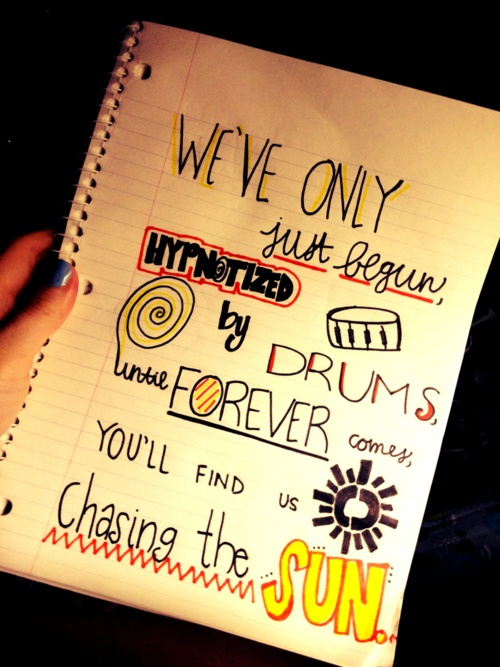 The Wanted - Chasing The Sun  Done by me :)