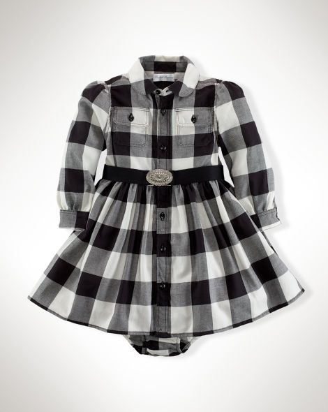 Buffalo Plaid Dress Baby Girl Dresses Amp Skirts