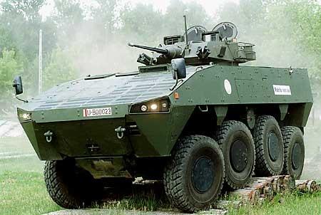 Finnish Patria AMV