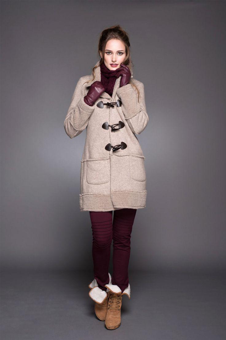 Montgomery invernal #abrigo #montgomery #calzas #lineatre