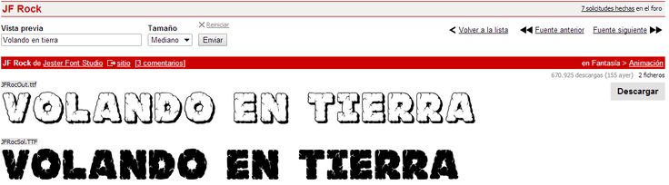 Posible tipografía 3