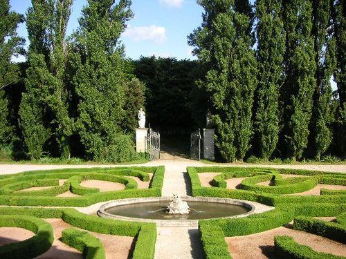 Italian Garden, Giardino di Villa Emo, Monselice.16th century Villa Emo, attributed to Vincenzo Scamozzi