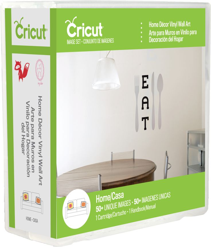 Cricut® Home Decor Vinyl Wall Art Cartridge   Universal Overlay Sold  Separately