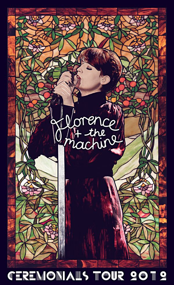 florence and the machine official posters - Google Search