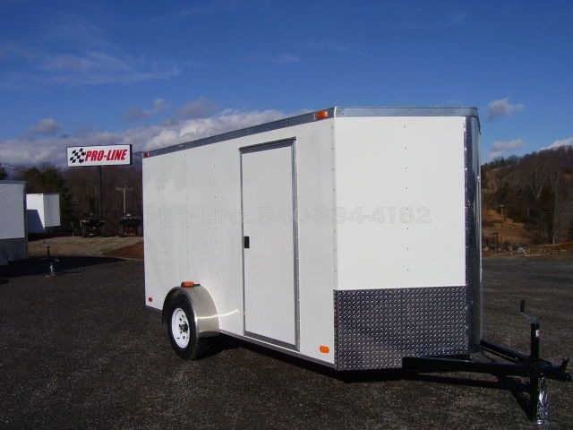 6x12 Enclosed Trailers (Motorcycle Trailers, Cargo Trailers, Small Trailers)
