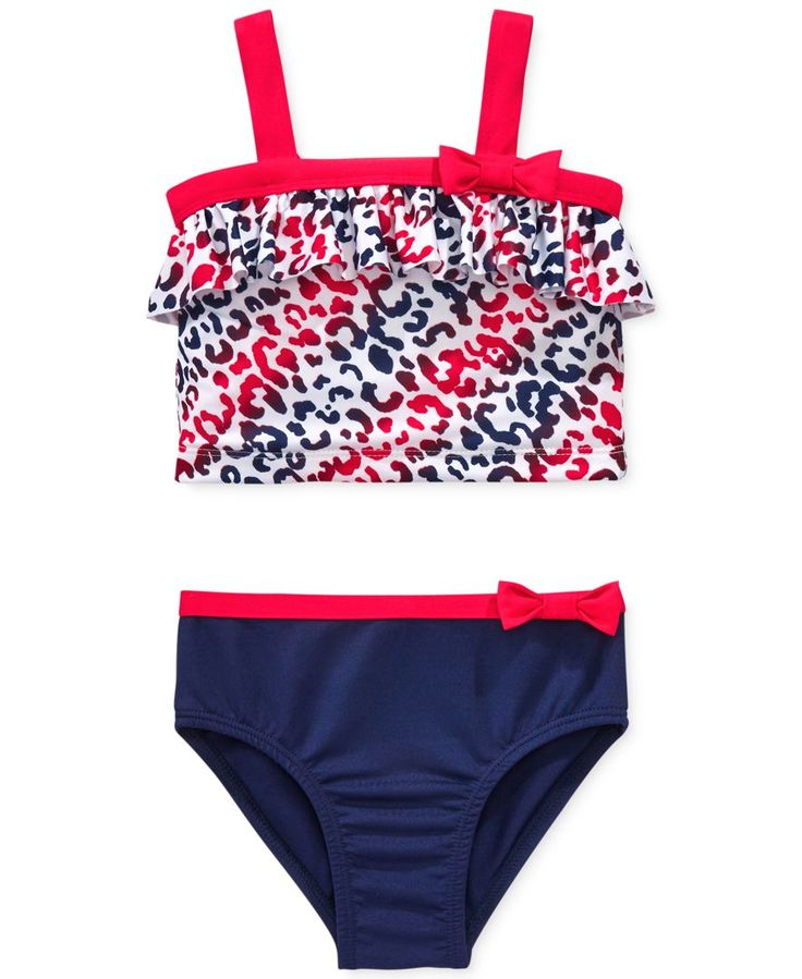 Penelope Mack Little Girls' or Toddler Girls' 2-Piece Tankini Swimsuit