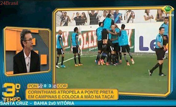 Pós Jogo Terceiro Tempo   Ponte Preta 0 x 3 Corinthians   Final Ida   Paulistão   30/04/2017