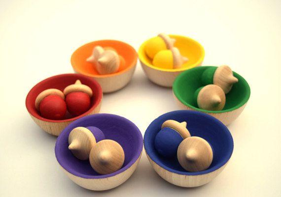 Montessori Toddler Toys Montessori Sorting by PumpkinsPlaythings