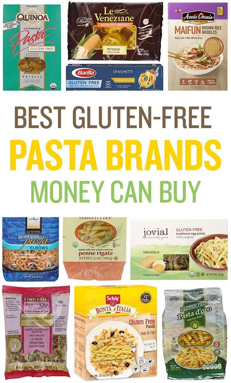 A list of the best gluten-free pasta brands, including the best gluten-free lasagna noodles and the best gluten-free spaghetti noodles.