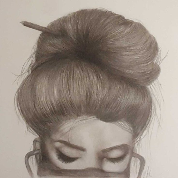 """""""THE NURSE"""" Charcoal and graphite.  By Carolyn Dawson SOLD"""