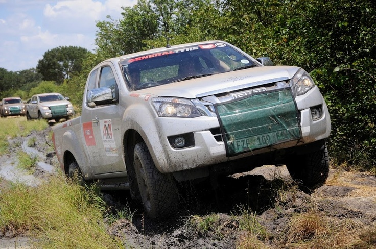 Don't be a stick in the mud. Our new Isuzu KB in action