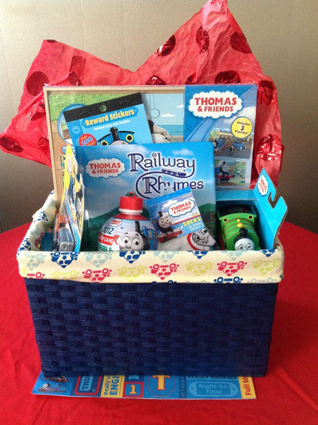 10 best easter basket ideas for the boyz images on pinterest babys gift basket of thomas the train stuff pinned from pinto for ipad negle Gallery