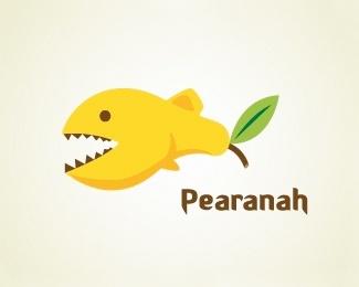 Pearanah. Cute. #logo #design
