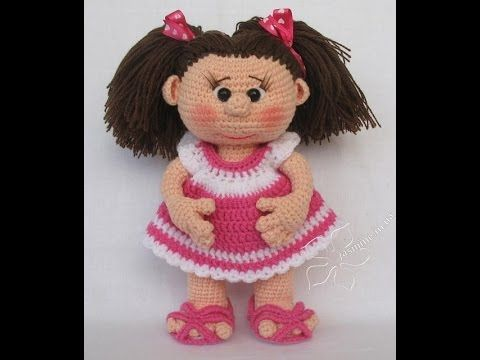 Muñecas amigurumi de ganchillo tejidas a mano. Crochet dolls. - YouTube