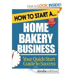 how to start your own bakery from home