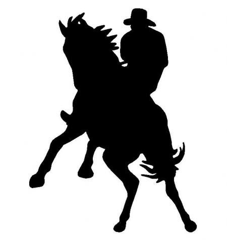115 best images about silhouette western on pinterest for Cowboy silhouette tattoo