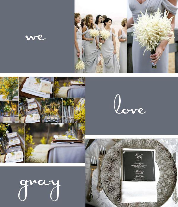 Ideas para usar el color gris como foco principal.