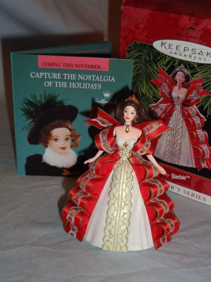 Hallmark Keepsake Barbie Holiday Barbie 1997 Collectors Series QX16212