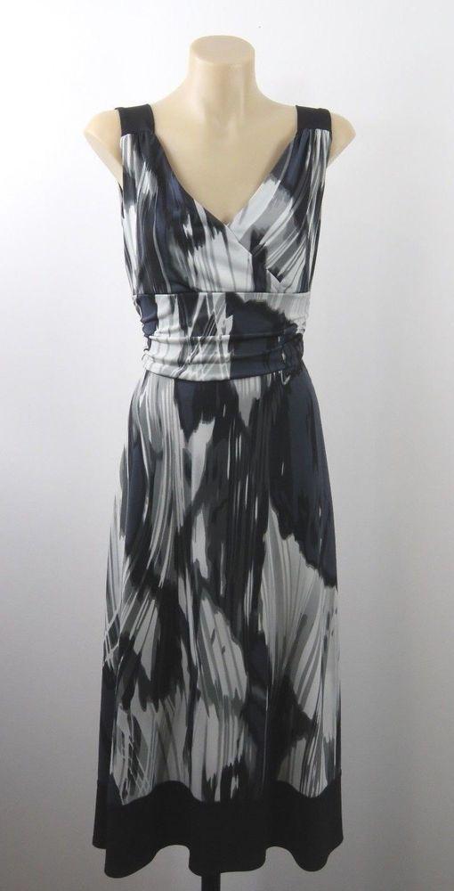 Size S 10 Grace Hill Ladies Dress Chic Vintage Cocktail Business Wedding Design #GraceHill #Sundress #PartyCocktail