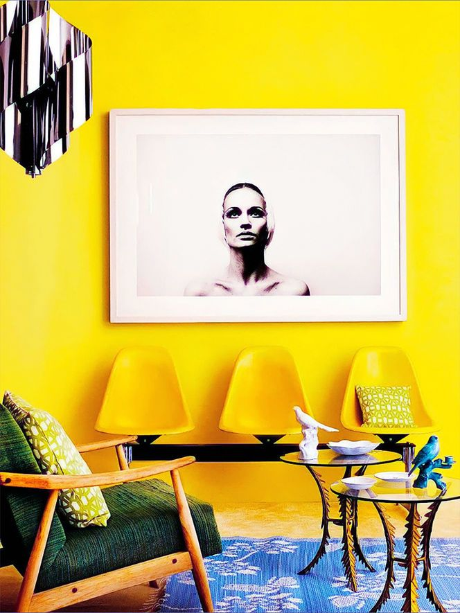 149 best YELLOW INTERIORS images on Pinterest | Yellow, Yellow walls ...
