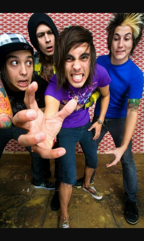 Because Ptv They Are Just Ahhh In 2021 Pierce The Veil Celebrity News George Michael