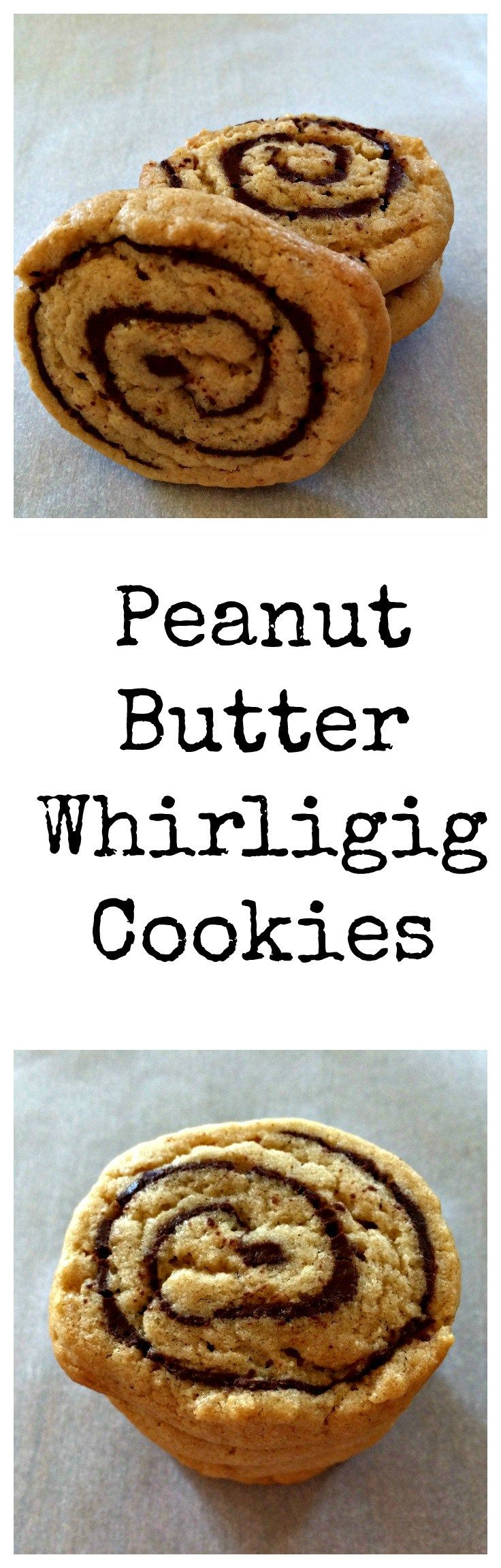 Peanut Butter Chocolate Pinwheel Cookies