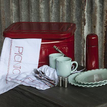 Red Tea Picnic Tin