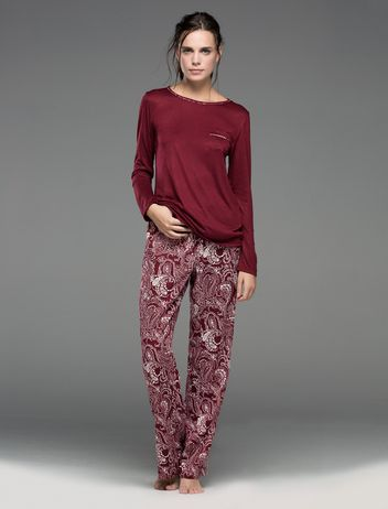 women'secret | Productos | Pijama largo de paisley