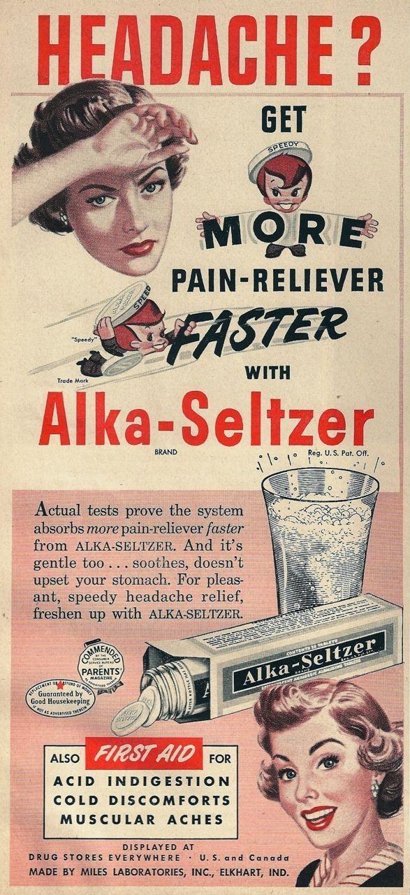 Alka-Seltzer, 1953