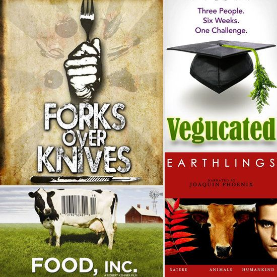 Life Style Changing Documentaries. Saw & loved both Forks Over Knives & Food, Inc. Need to watch the other two next.