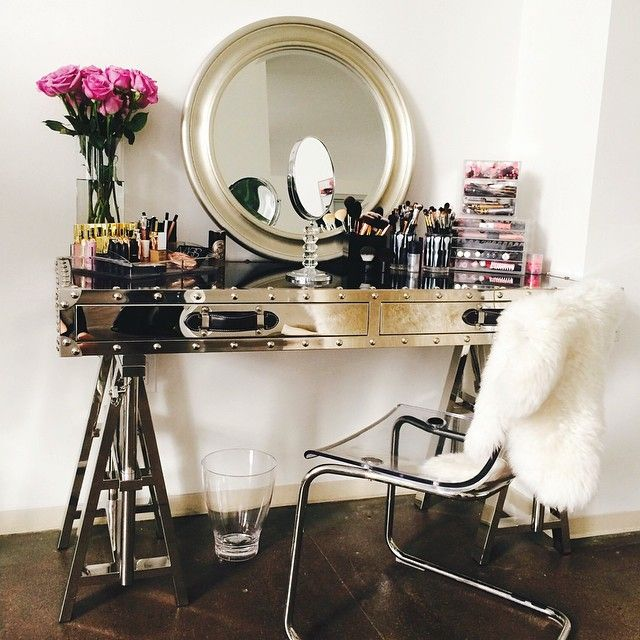 52 Best Makeup Vanity Ideas Images On Pinterest Bedroom