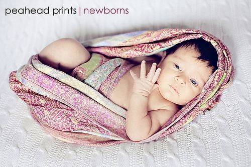 newborn scarf wrap tutorial  | followpics.co