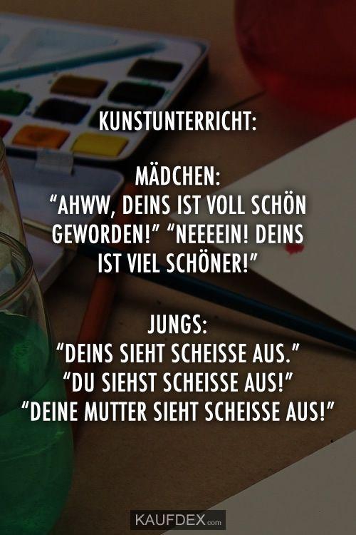 """Kunstunterricht: Mädchen: """"Ahww, deine ist wunderschön – #Ahww #ist #ist #j …   – coins"""