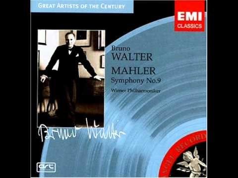 Bruno Walter & Wiener Philharmoniker - Gustav Mahler Symphony No. 9 (1938)